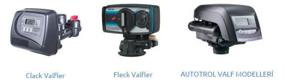 Vafler - Clack - Fleck - Autotrol